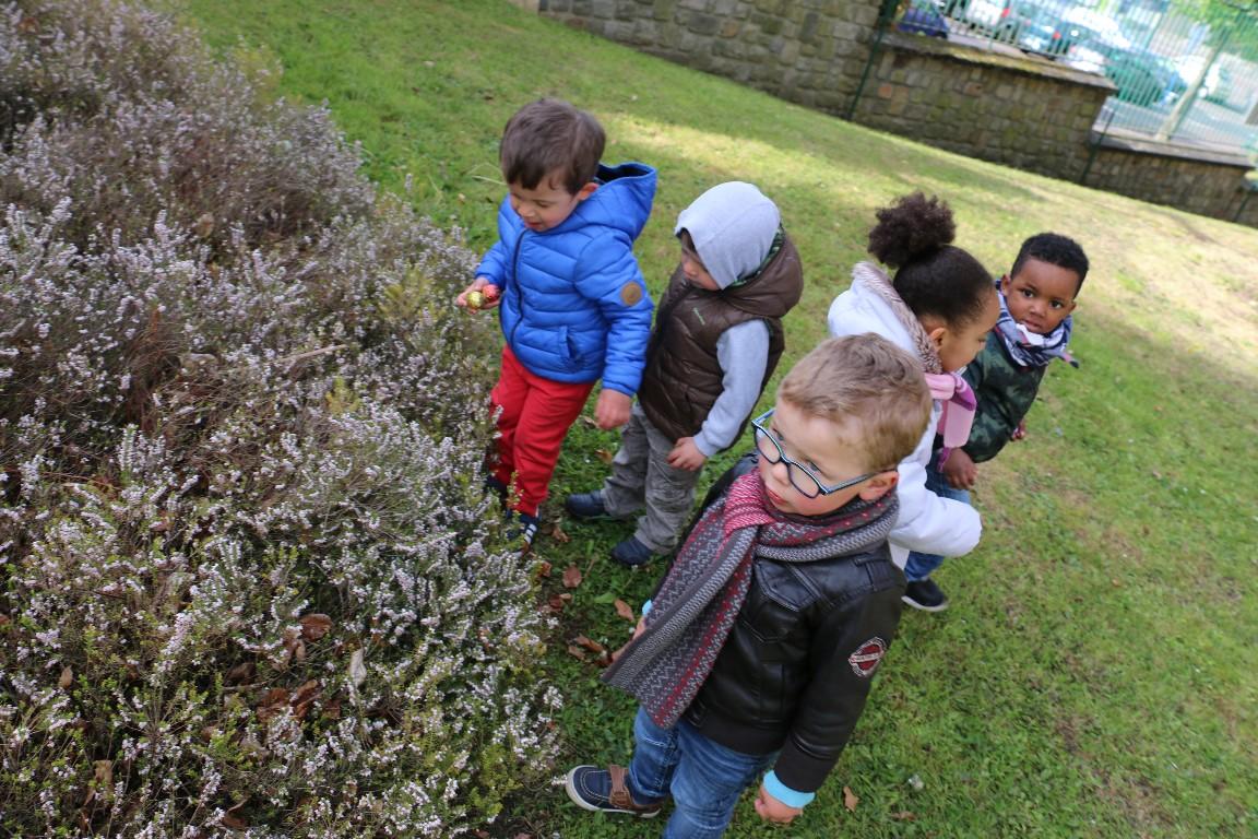 Chasse aux oeufs de Pâques de la maison de la petite enfance @ Parc du Logis