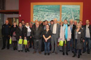 Réception des médaillés du travail @ Hôtel de Ville - Salle du Conseil Municipal