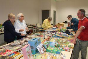 """Marché """"travaux manuels et jouets"""" des Familles de France @ Salle des associations """"les rivières"""""""