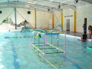 Halloween : jeux d'eau à la piscine @ Piscine Municipale