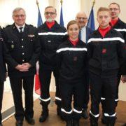 Sainte Barbe des Sapeurs Pompiers de Déville
