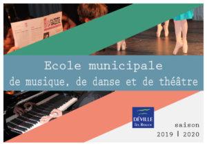 Inscriptions école municipale de musique, de danse et de théâtre @ Maison des arts et de la musique