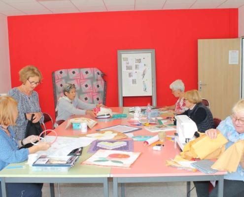 Visites d'ateliers d'artistes - ALD section Joseph Delattre