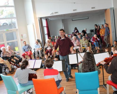 Concert de l'école municipale de musique, de danse et de théâtre à la Filandière