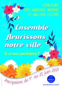 Inscriptions au concours des maisons, jardins et balcons fleuris @ Hôtel de Ville